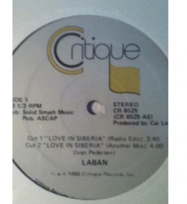 "LABAN "" LOVE IN SIBERIA"" 12"" / SEALED �.Never Played **RARE**"