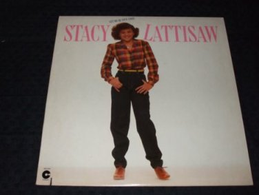 Stacy Lattisaw ~ Le Me Be Your Angel LP MINT