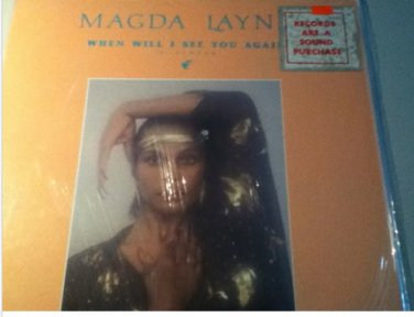 "Magda Layna - When Will I See You Again 12"" Single SEALED !!!! RARE"
