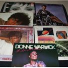 LOT OT 6 LP''s ~ Dionne Warwick.Thelma Houston, Teri DeSario & Cinema Sampler