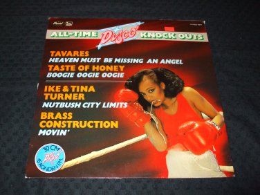 VARIOUS ARTIST ~ ALL TIME DISCO KNOCK OUTS.. RARE/ NEW/ MINT