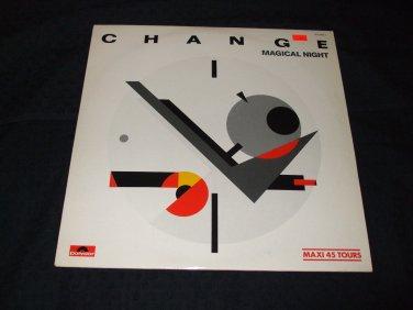 "CHANGE ~ MAGICAL NIGHT 12"" SUPER RARE/MINT"