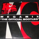 """KC AND THE SUNSHINE BAND ~ MEGAMIX (THE OFFICIAL BOOTLEG) 12"""" RARE"""