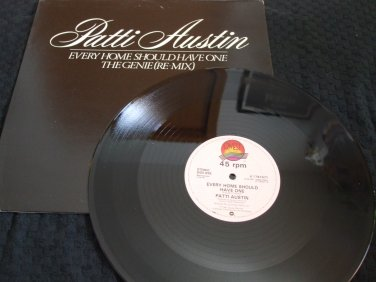 """PATTIE AUSTIN ~ EVERY HOME SHOULD HAVE ONE 12"""" IMPORT/ MINT/ NEVER PLAYED /RARE"""