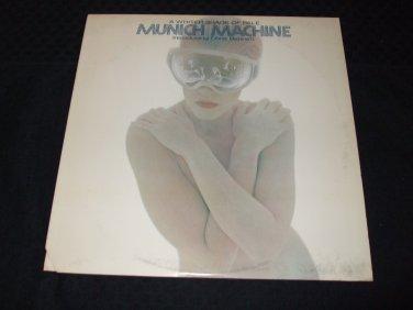 MUNICH MACHINE ~ A WHITER SHADE OF PALE LP ( GIORGIO MORODER) �. NICE
