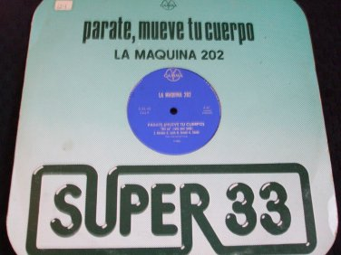 "LA MAQUINA 20 ~ GET UP(ROCK YOUR BODY) 12"" NICE / RARE"
