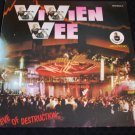 "VIVIEN VEE ~ EVE OF DESTRUCTION 12"" MINT/ RARE/NEVER PLAYED"