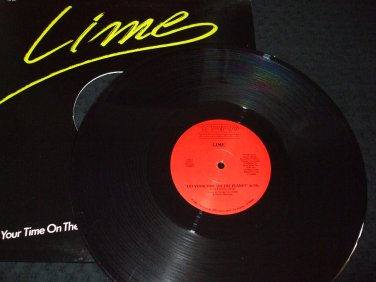 "LIME ~ DO YOUR TIME ON THE PLANET 12"" PROMO/ MINT/ NEVER PLAYED"