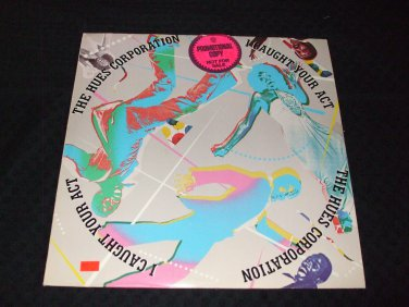 THE HUES CORPORATION ~ I CAUGHT YOUR ACT LP PROMO /MINT /NEVER PLAYED / RARE