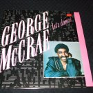 "GEORGE McCRAE ~ LET'S DANCE 12"" MINT/NEVER PLAYED /LIKE NEW"