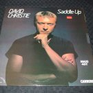 "DAVID CHRISTIE ~ SADDLE UP 12"" LIKE NEW/ NEVER PLAYED/ MINT / RARE"