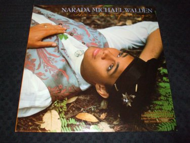 NARADA MICHAEL WALDEN ~ THE NATURE OF THINGS LP MINT NEVER PLAYED RARE PROMO