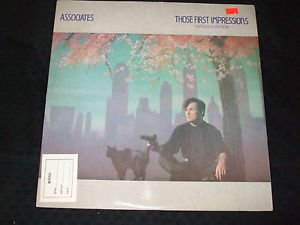 "ASSOCIATES ~ THOSE FIRST IMPRESSIONS 12""  MINT/  LIKE NEW / CLEAN"