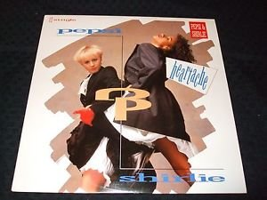 "PEPSI AND SHIRLIE ~ HEARTACHE   12""  MINT RARE/ LIKE NEW / NEVER PLAYED"