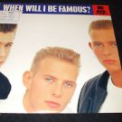 "BROS ~ WHEN WILL I BE FREE 12"" NEAR MINT/ NICE /PROMO/ CLEAN"