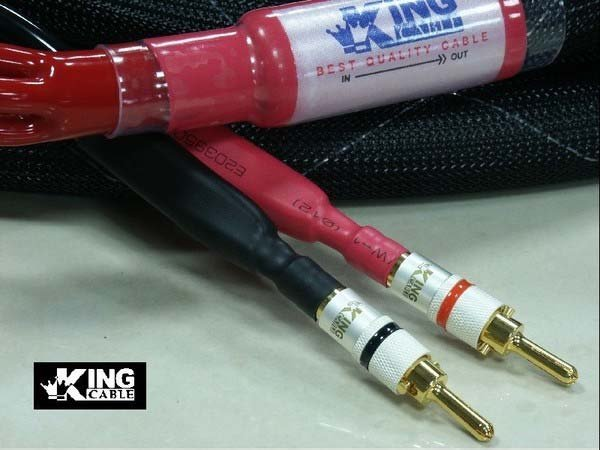 Pure silver high grade speaker cable.