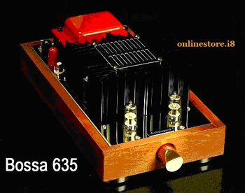 Boosa integrated hybrid tube amplifier.