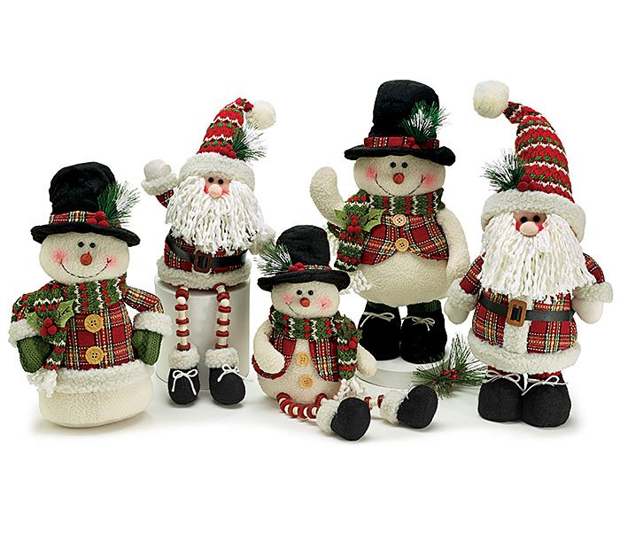 And decor santa pewter santa fireplace festive decor for Z furniture outlet santa ana