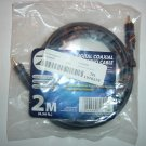 Zax 85802 6.56 ft 2 M Digital Coaxial Audio Cable