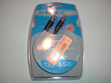 Dynex DX-AV230 15 ft Subwoofer Cable