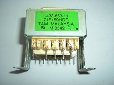 Sony Power Transformer 1-433-663-11 for CD Changer