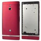 Full Housing Cover for Sony LT22(Red)