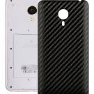 Carbon Fiber Texture Back Cover Replacement for Meizu MX 4 Pro Black