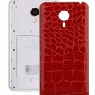 Crocodile Texture Back Cover Replacement for Meizu MX 4 Pro Red
