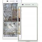 Huawei Ascend P6 Front Screen Outer Glass Lens(White)