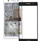Huawei Ascend P6 Front Screen Outer Glass Lens(Black)