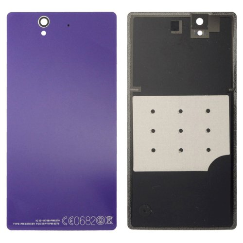 Aluminium Replacement Battery Back Cover for Sony Xperia Z / L36h(Purple)