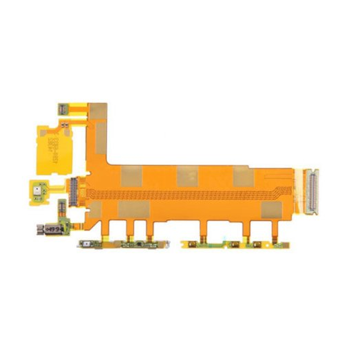 Motherboard (Power & Volume & Mic) Ribbon Flex Cable for Sony Xperia Z3