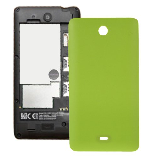 Frosted Surface Plastic Back Housing Cover Replacement for Microsoft Lumia 430(Green)