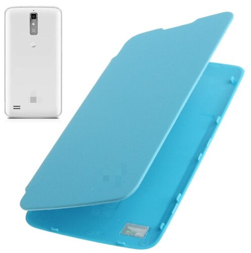 Flip Back Cover / Replacement Leather Case for Huawei Ascend G710 / A199 (Blue)