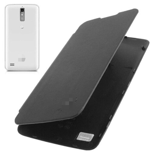 Flip Back Cover / Replacement Leather Case for Huawei Ascend G710 / A199 (Black)