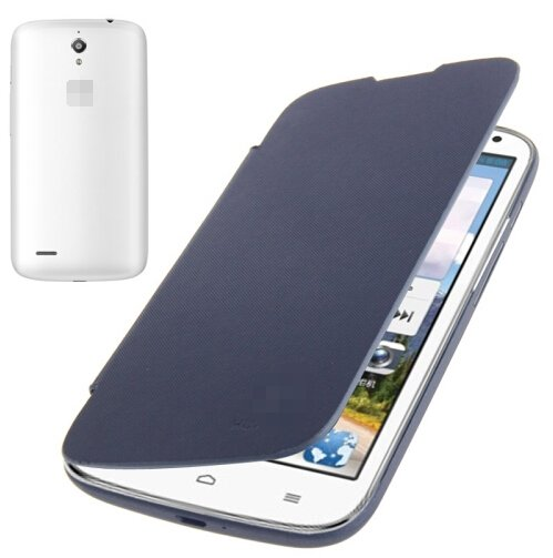 Flip Back Cover / Replacement Leather Case for Huawei Ascend G610 (Navy Blue)