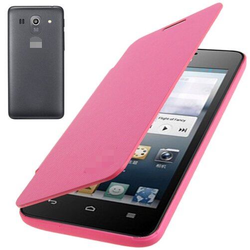 Flip Back Cover / Replacement Leather Case for Huawei Ascend G520 (Magenta)