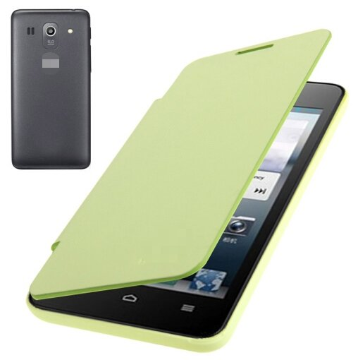 Flip Back Cover / Replacement Leather Case for Huawei Ascend G520 (Light Green)