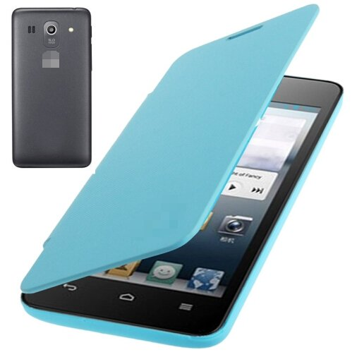Flip Back Cover / Replacement Leather Case for Huawei Ascend G520 (Blue)