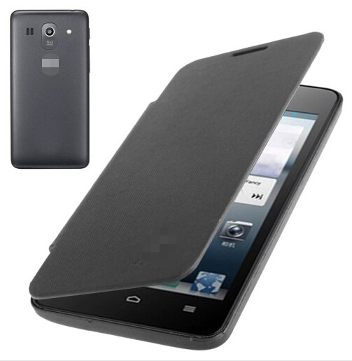 Flip Back Cover / Replacement Leather Case for Huawei Ascend G520 (Black)