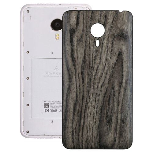 Wood Grain Back Cover Replacement for Meizu MX 4(Grey)