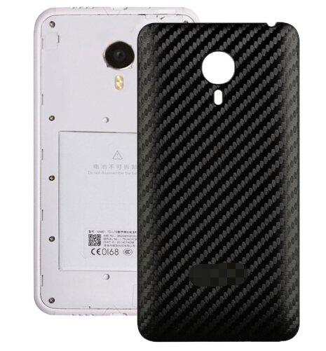Carbon Fiber Texture Back Cover Replacement for Meizu MX 4(Black)