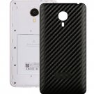 Carbon Fiber Texture Back Cover Replacement for Meizu MX 4(Black)