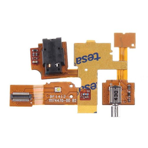Earphone Jack Flex Cable Ribbon Replacement Parts for Nokia XL