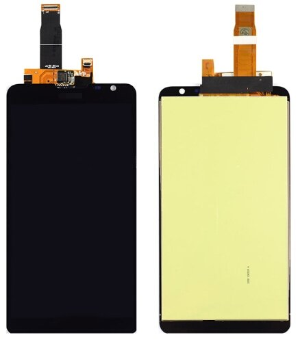 LCD Screen + Touch Screen Digitizer Assembly for Huawei Ascend Mate2(Black)