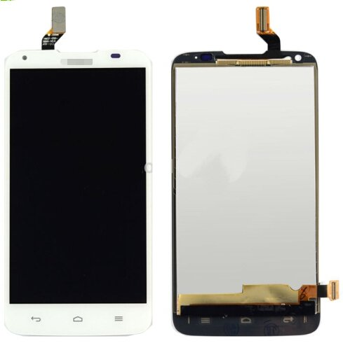 LCD Screen + Touch Screen Digitizer Assembly for Huawei Ascend G710 / A199(White)