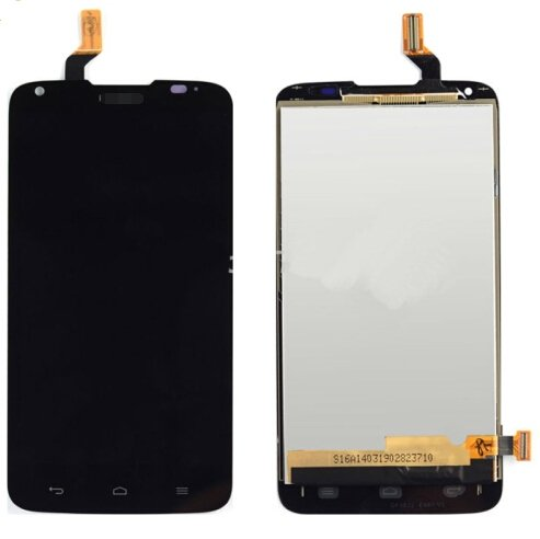 LCD Screen + Touch Screen Digitizer Assembly for Huawei Ascend G710 / A199(Black)