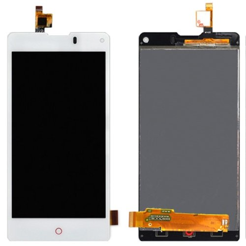 LCD Screen + Touch Screen Digitizer Assembly for ZTE Nubia Z5S mini / NX403(White)