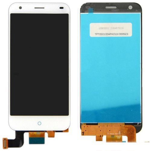 LCD Screen + Touch Screen Digitizer Assembly for ZTE Blade S6(White)