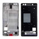 Front Housing LCD Frame Bezel Plate Replacement for Huawei Honor 7(White)